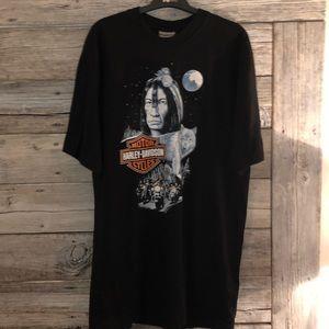 Harley-Davidson Men' Vintage T-Shirt Size Large
